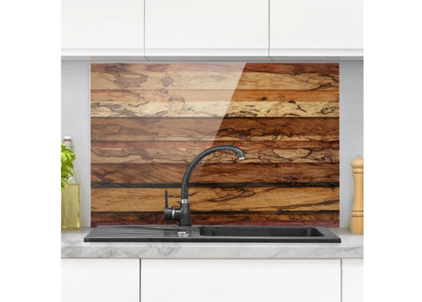Fotoklaas, köögi tagasein Woody Flamed 40x60 cm