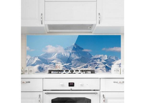 Fotoklaas, köögi tagasein Mount Everest 40x100 cm