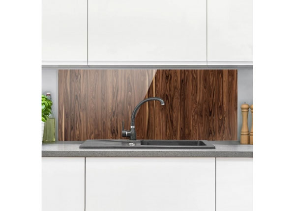 Fotoklaas, köögi tagasein Santos Rosewood 40x60 cm