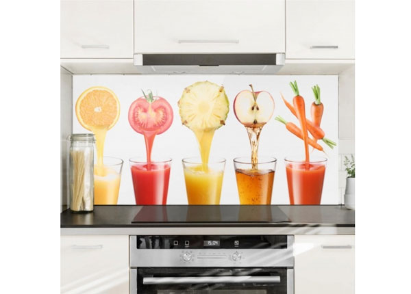 Fotoklaas, köögi tagasein Freshly Squeezed 40x80cm