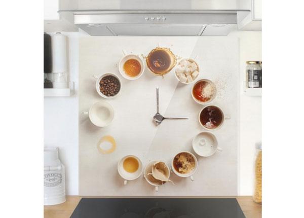 Fotoklaas, köögi tagasein Coffee Time 59x60 cm ED-130477