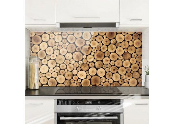 Fotoklaas, köögi tagasein Homey Firewood 40x60 cm
