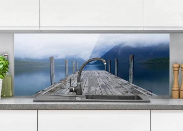 Fotoklaas, köögi tagasein Nelson Lakes National Park New Zealand 40x100 cm