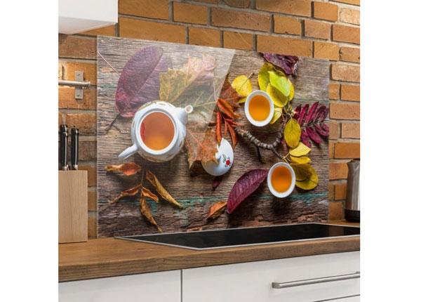 Fotoklaas, köögi tagasein Tea In September 40x60 cm