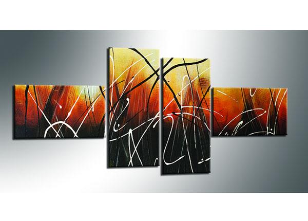 Neljaosaline seinapilt Abstrakt 70x160 cm ED-130558