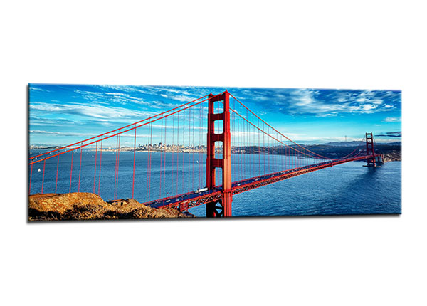 Seinapilt San francisco golden gate 40x120 cm ED-130567