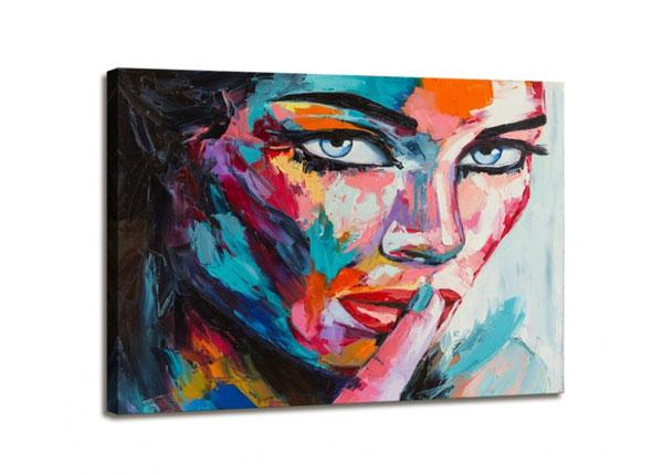 Seinapilt Woman face 60x80 cm ED-130571