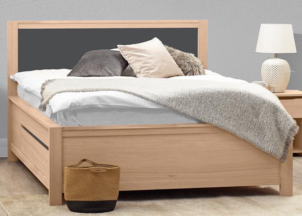 Pesukastidega voodi Herrin 160x200 cm MA-130887