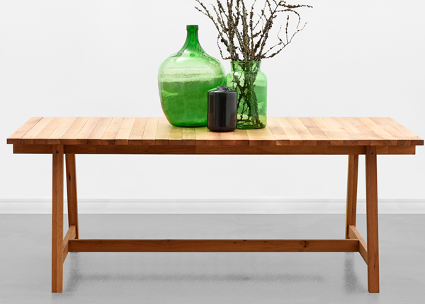 Söögilaud Wooden Beams 198x100 cm MA-130909