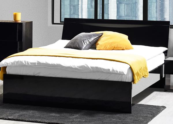 Voodi Letty black 160x200 cm MA-130918