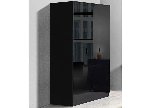 Riidekapp Letty black MA-130919