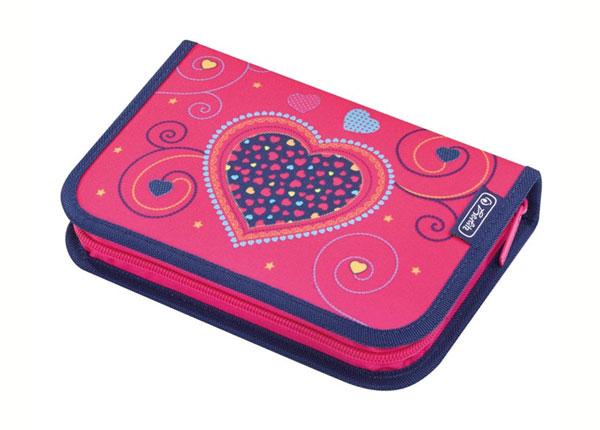 Täidetud pinal Herlitz Pink Hearts BB-130921