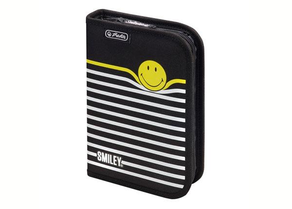 Täidetud pinal Herlitz Smileyworld Black Stripes BB-130931