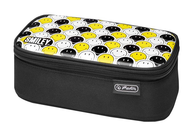 Pinal Herlitz Be Bag Beat Box - Smileyworld Black Stripes BB-130960