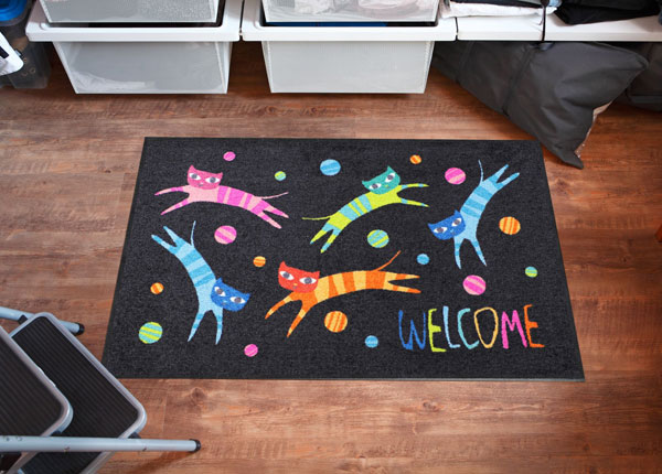 Vaip Jumping Cats Welcome 75x120 cm A5-131024