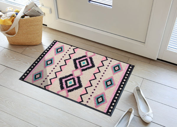 Vaip Kelim Stripes rose 50x75 cm