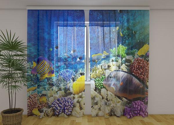 Šifoon-fotokardin Sea fairy tale 240x220 cm ED-131500