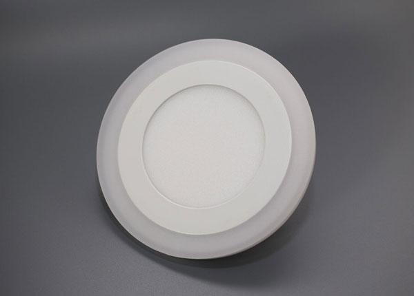 Süvistatav paneelvalgusti 3+3 W, Ø10,5 cm EW-131686