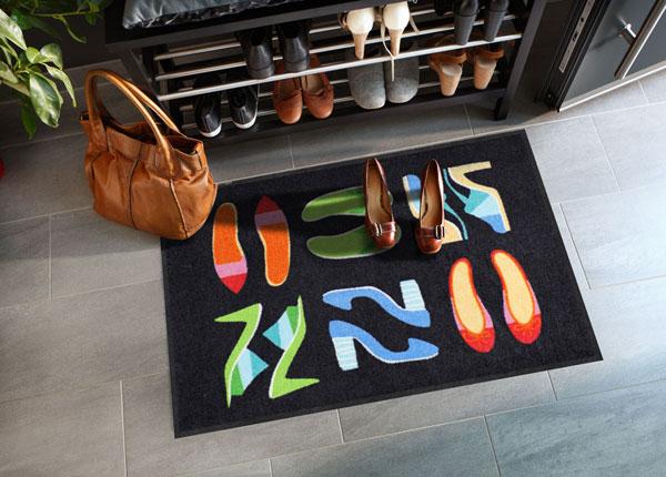 Uksematt Shoe Collection black 50x75 cm A5-131718