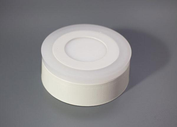 Pinnapealne paneelvalgusti 3+3 W, Ø10,5 cm EW-131801