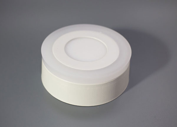 Pinnapealne paneelvalgusti 12+4 W, Ø19 cm EW-131809