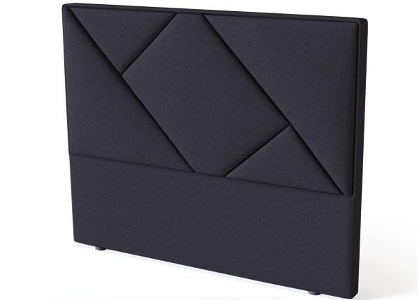Sleepwell voodipeats Geometry BLACK 160 cm SW-132137