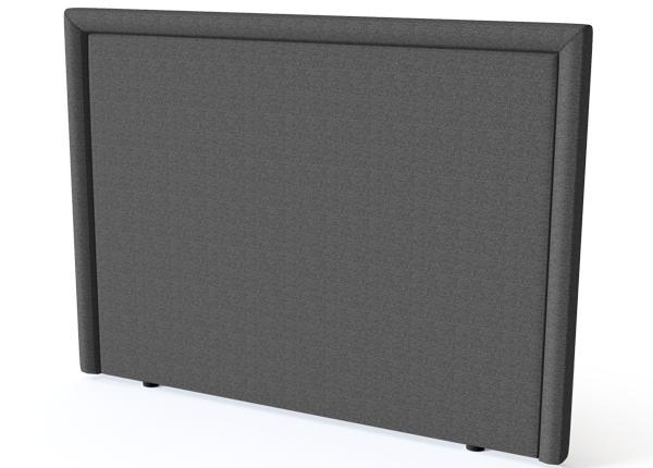 Sleepwell voodipeats Lined BLACK 140 cm SW-132146
