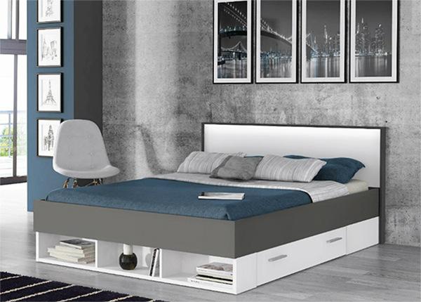 Pesukastiga voodi 140x200 cm TF-132333