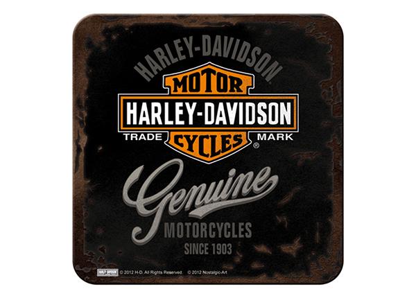 Retro klaasialus Harley-Davidson Genuine 4 tk SG-132728