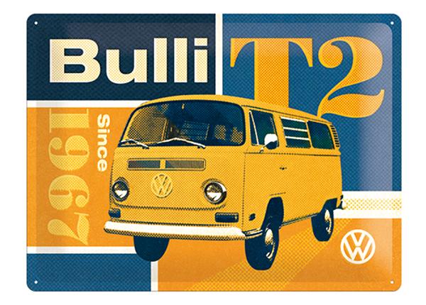 Retro metallposter VW T2 Bulli 30x40 cm SG-132729