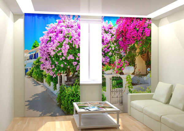 Fotokardinad Lilac Garden 300x260 cm AÄ-132987