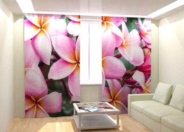 Fotokardinad Tropical Flowers 300x260 cm AÄ-132989