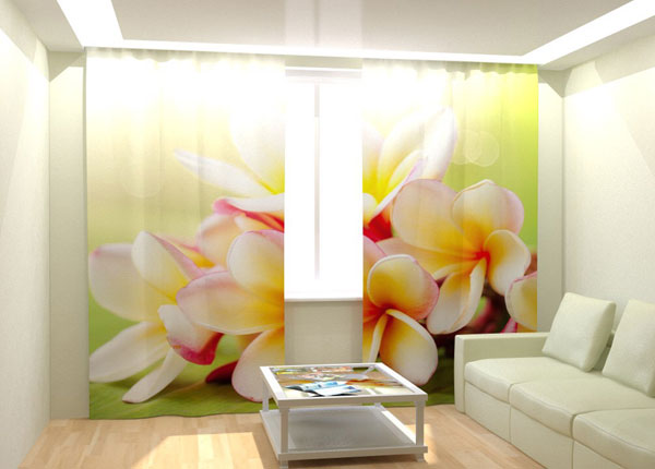 Fotokardinad Tropical Bouquet 300x260 cm AÄ-132993