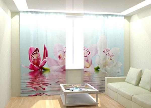 Fotokardinad Lilies on the water 300x260 cm AÄ-133000