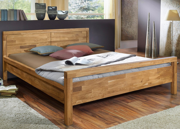 Tammepuidust voodi Next 160x200 cm