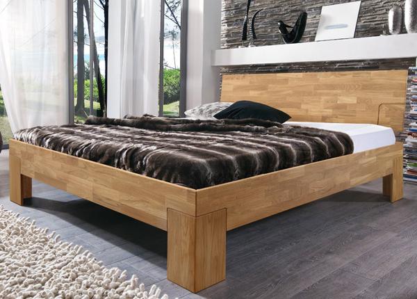 Tammepuidust voodi Sarah 160x200 cm EC-133695