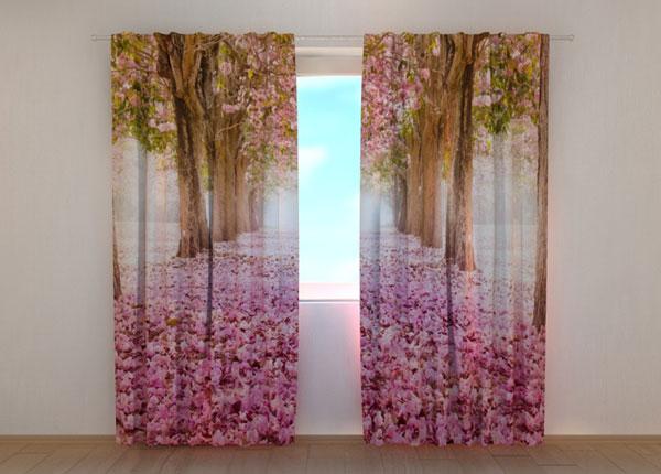 Läbipaistev kardin Alley of Magnolias 240x220 cm ED-133696