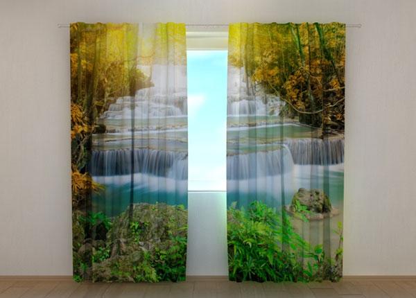 Läbipaistev kardin Autumn waterfall, 240x220 cm ED-133741