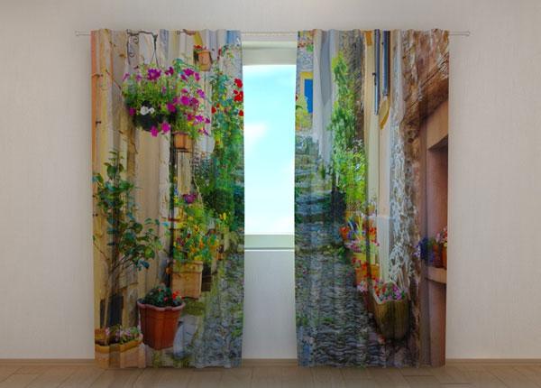 Pimendav kardin Back Street in Flowers 240x220 cm ED-133750