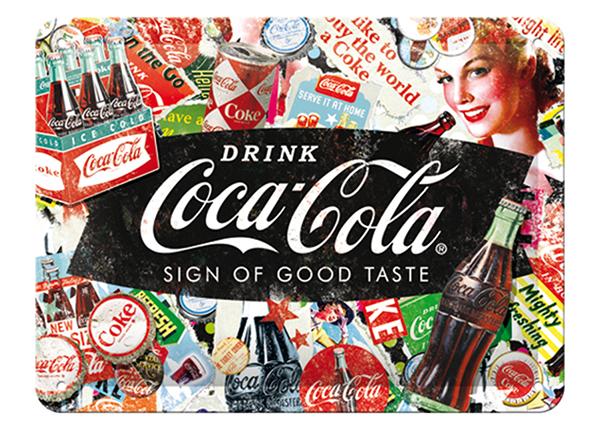 Retro metallposter Coca-Cola Collage 15x20 cm SG-133796
