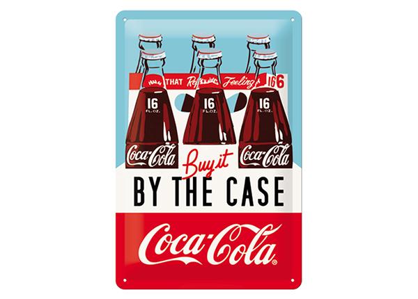 Retro metallposter Coca-Cola Buy it by The Case 20x30 cm SG-133819