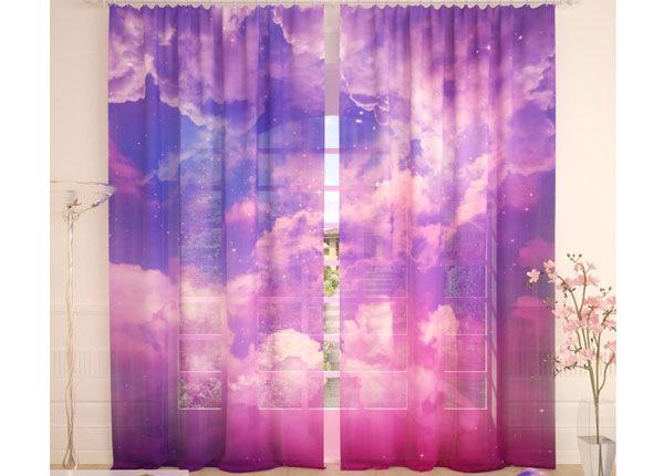 Tüllkardinad Pink Clouds 290x260 cm AÄ-134082