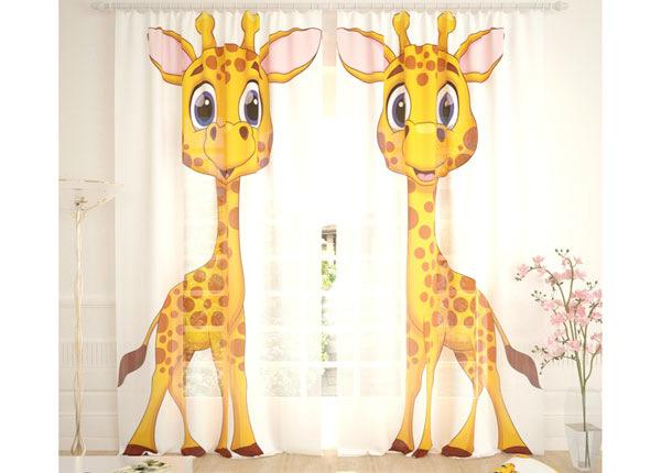 Tüllkardinad Two Giraffes 290x260 cm AÄ-134085