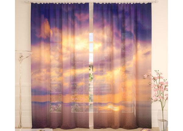 Tüllkardinad Sunrise in the Ocean 290x260 cm AÄ-134097