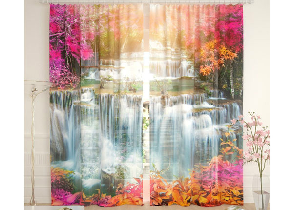 Tüllkardinad Solar Waterfall 290x260 cm AÄ-134102