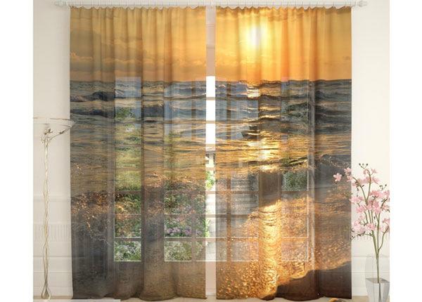 Tüllkardinad Waves of the Sea 290x260 cm AÄ-134103