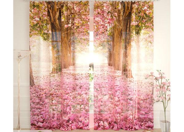 Tüllkardinad Flower Alley 290x260 cm AÄ-134104