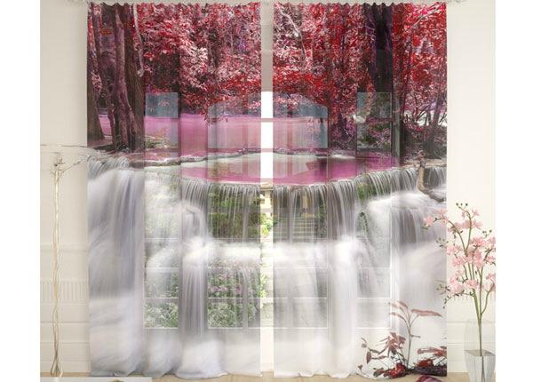 Tüllkardinad Thai Waterfall 290x260 cm AÄ-134105