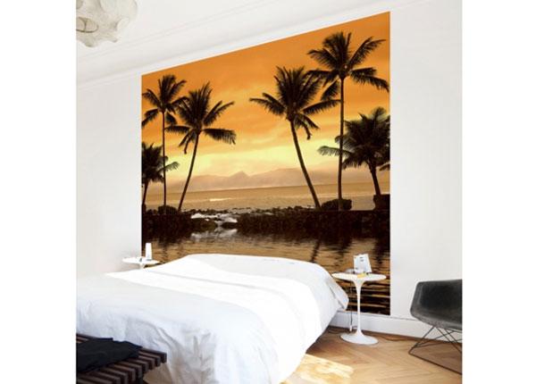 Fliis fototapeet Caribbean Sunset I