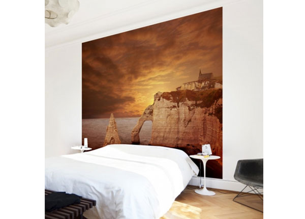 Fliis fototapeet Etretat Sunset Cliffs